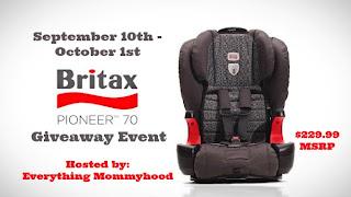 Britax Pioneer 70 Booster Car Seat