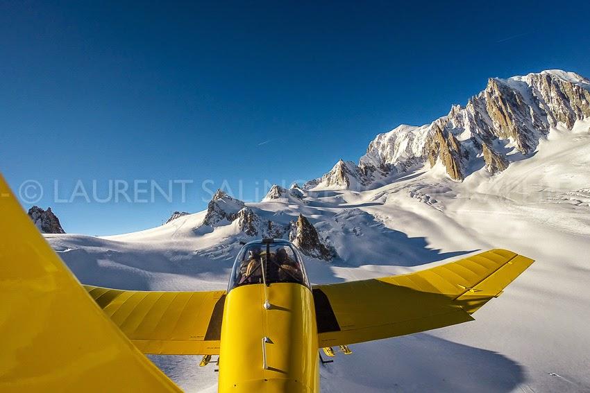 Vol Montagne - Jack Porte - Massif du Mont Blanc - ©Laurent Salino