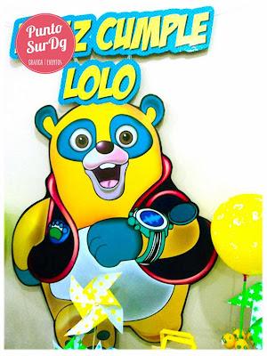 cumple infantil agente oso