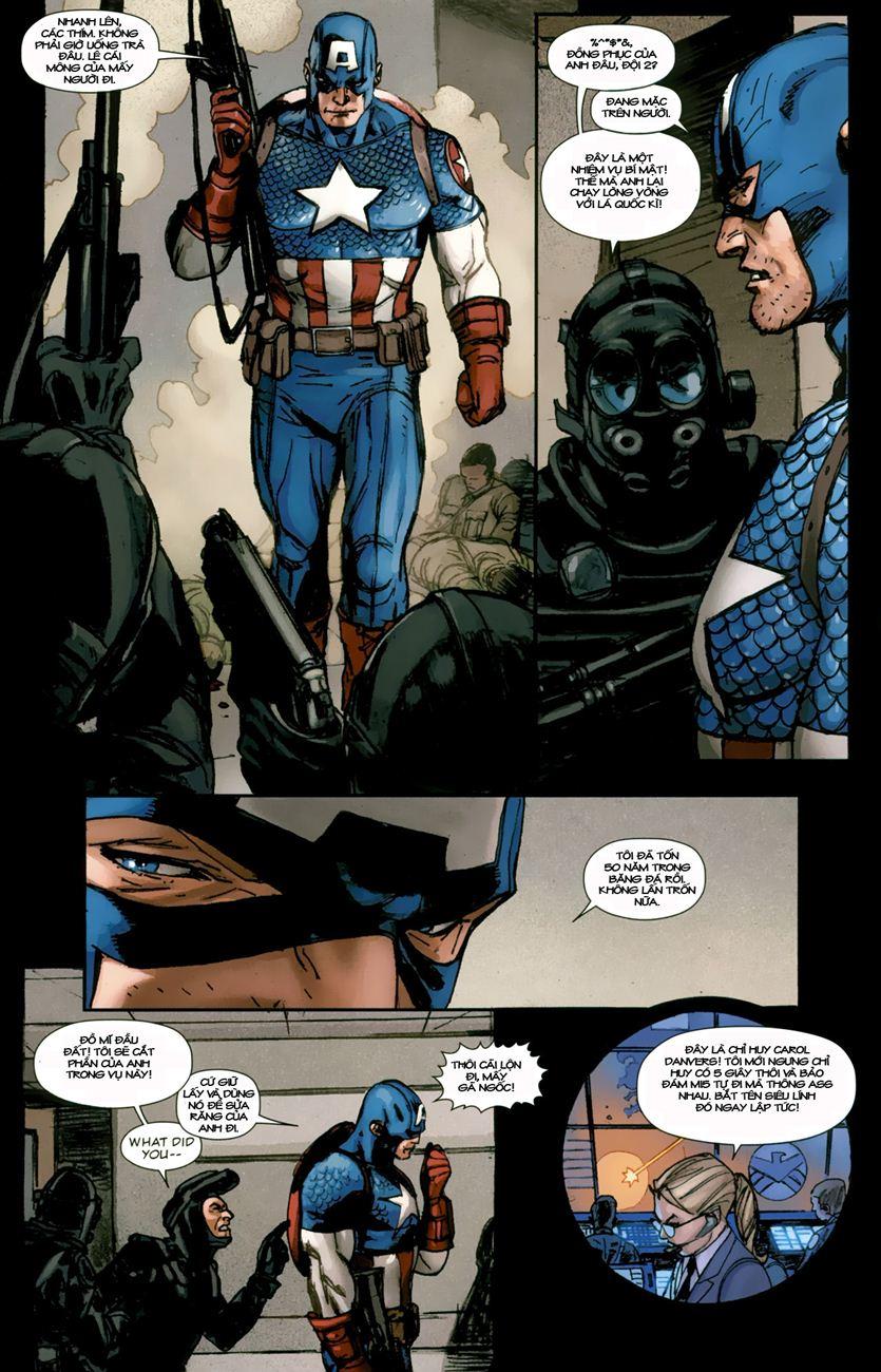 Ultimate Captain America chap 1 - Trang 15