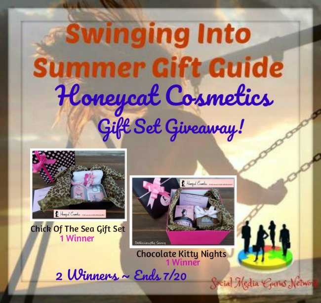 Honeycat Cosmetics Gift Set