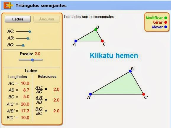 http://www.educaplus.org/play-185-Semejanza-de-triángulos.html
