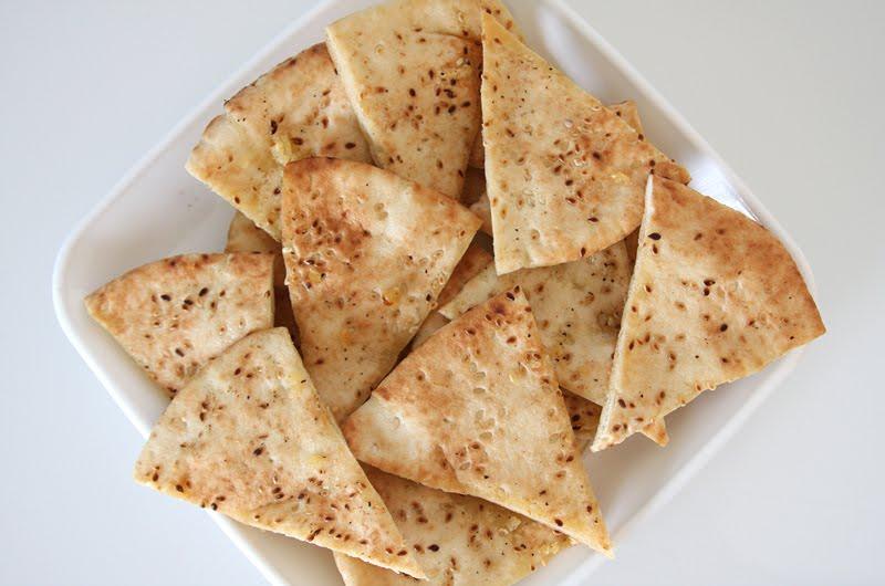 Homemade Pita Chip Tutorial – Julie Ann Art