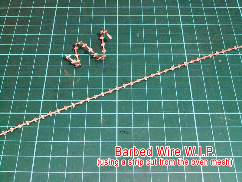 The Crooked Staff Blog: Chainlink fences (and barbed wire) for 28mm ...