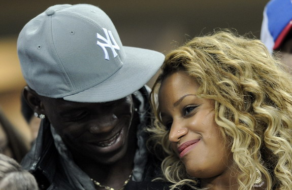 Girlfriend Fanny Neguesha has had a positive impact on Mario Balotelli's chaotic nature
