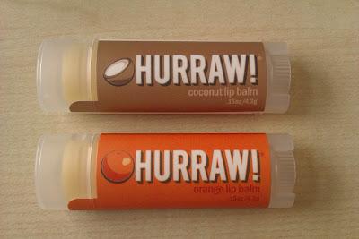 Balzamy Hurraw! Kokos a Pomaranč