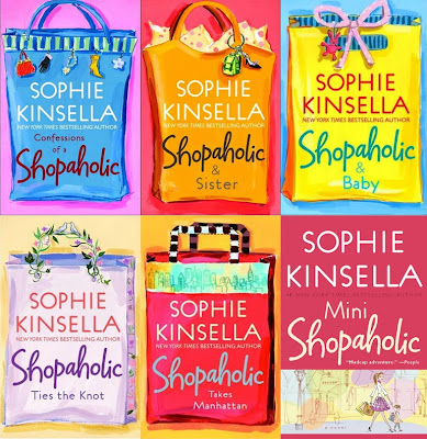 Sophie Kinsella Confessions of a Shopaholic book covers