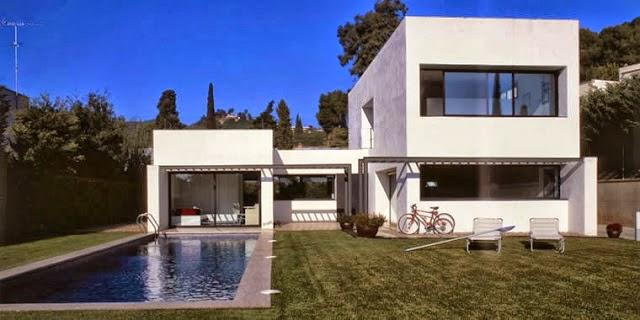 Casa fina decor fachadas de casas modernas casas sem for Casa moderna 2014 espositori