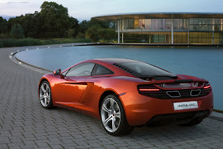 McLaren MP4-12C Spyder to get trick folding hardtop