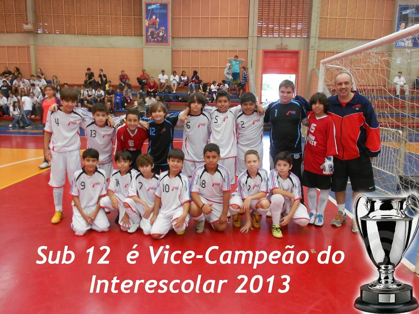 Sub12 é Vice no Interescolar 2013