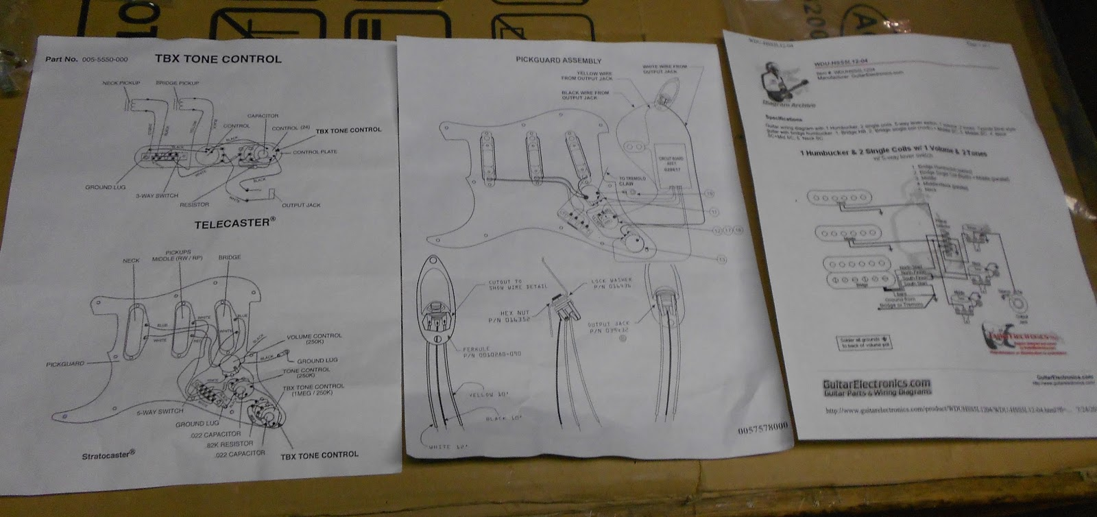 Repairs Rock Stringed Instrument Jay Turser Wiring Diagrams The First Step Was To Remove Strings And Neck For Routing My Cavity House Circuit Board