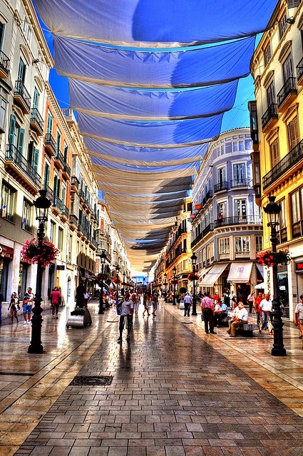 One of my favorite cities, Malaga, Spain.