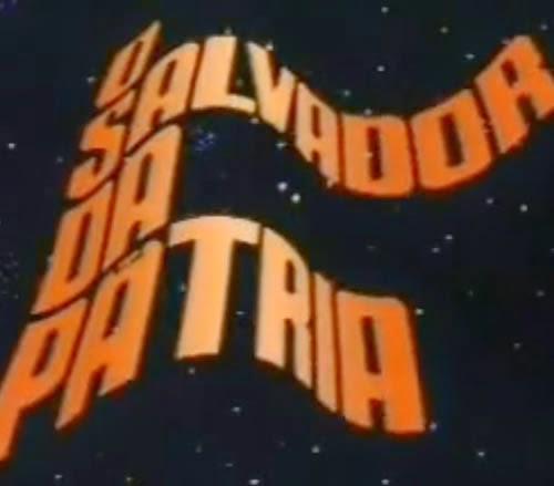 """Abertura da novela """"O Salvador da Pátria"""" desenvolvida por Hans Donner, em 1989."""