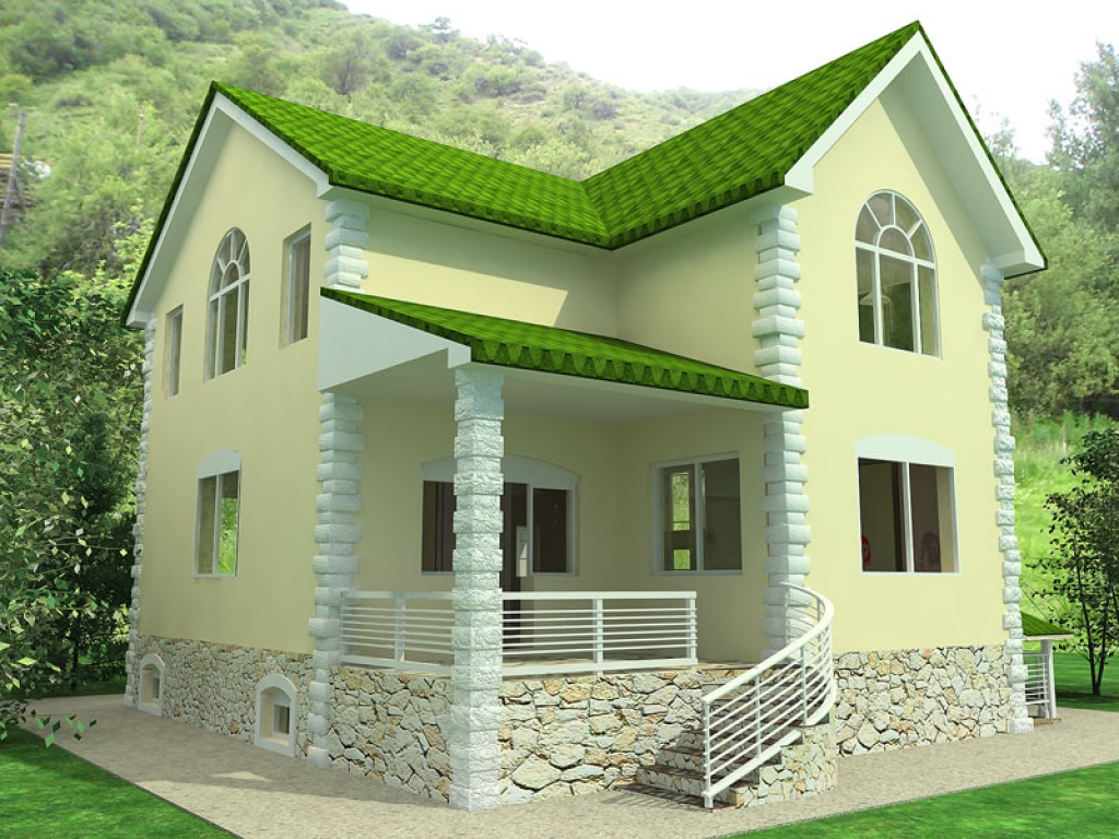 Modelos de casas dise os de casas y fachadas modelos de for Small green home plans