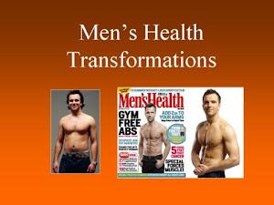 MEN'S HEALTH - TRANSFORMATIONS