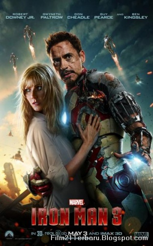 Poster Film Iron Man 3 Terbaru 2013