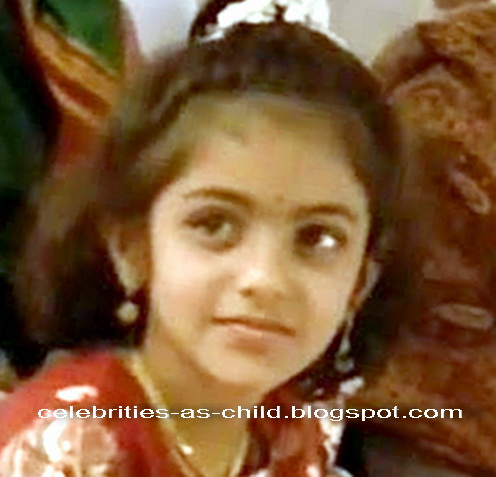 Celebrities As A Child: kajal Agarwal Childhood Photos Childhood Photos Of Kajal Agarwal