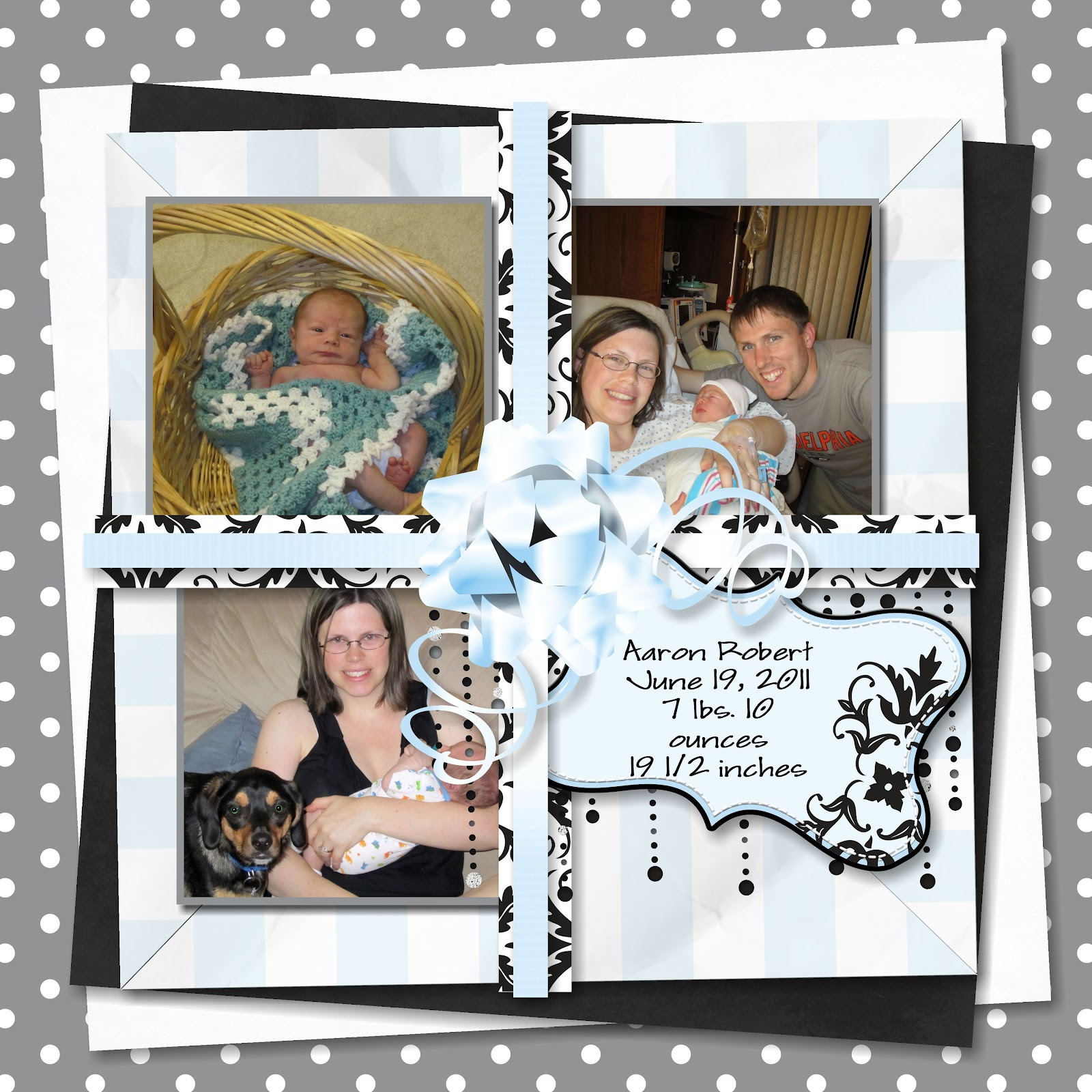 How to make scrapbook for husband - Another Thing I Wanted To Use The Scrapbooking Software For Was To Make Scrapbook Pages For My Husband For Father S Day Before My Son Was Born