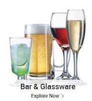 Buy Bar & Glassware upto 60% & Extra 15% off : Buytoearn