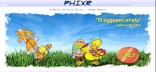 Phixr versão Páscoa