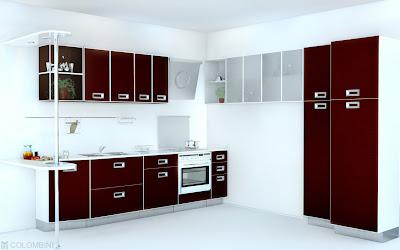 creativos diseños de cocinas