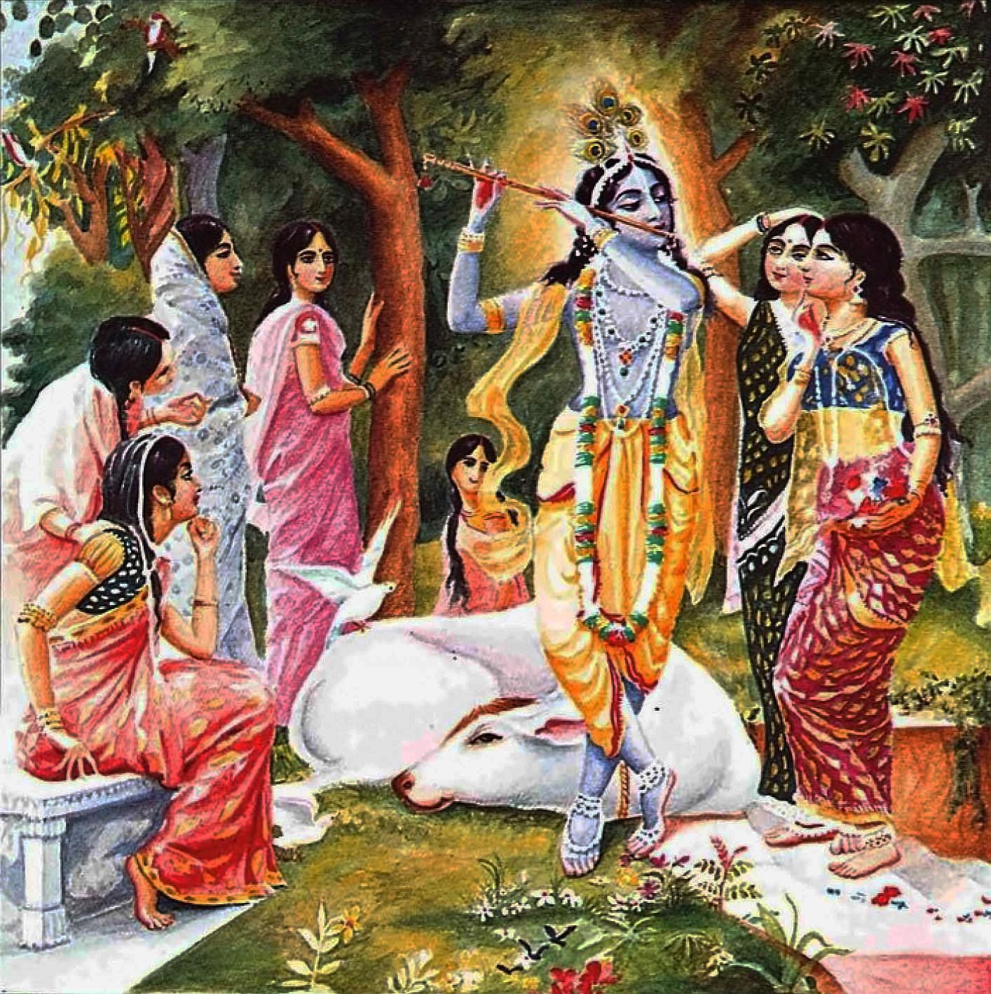 HariHarji: 'Shri Krishna Karnamrita:' Fiftieth Shloka