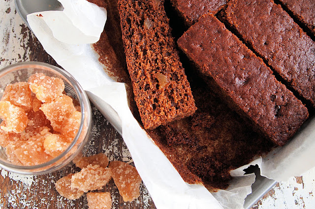 Dark Sticky Gingerbread