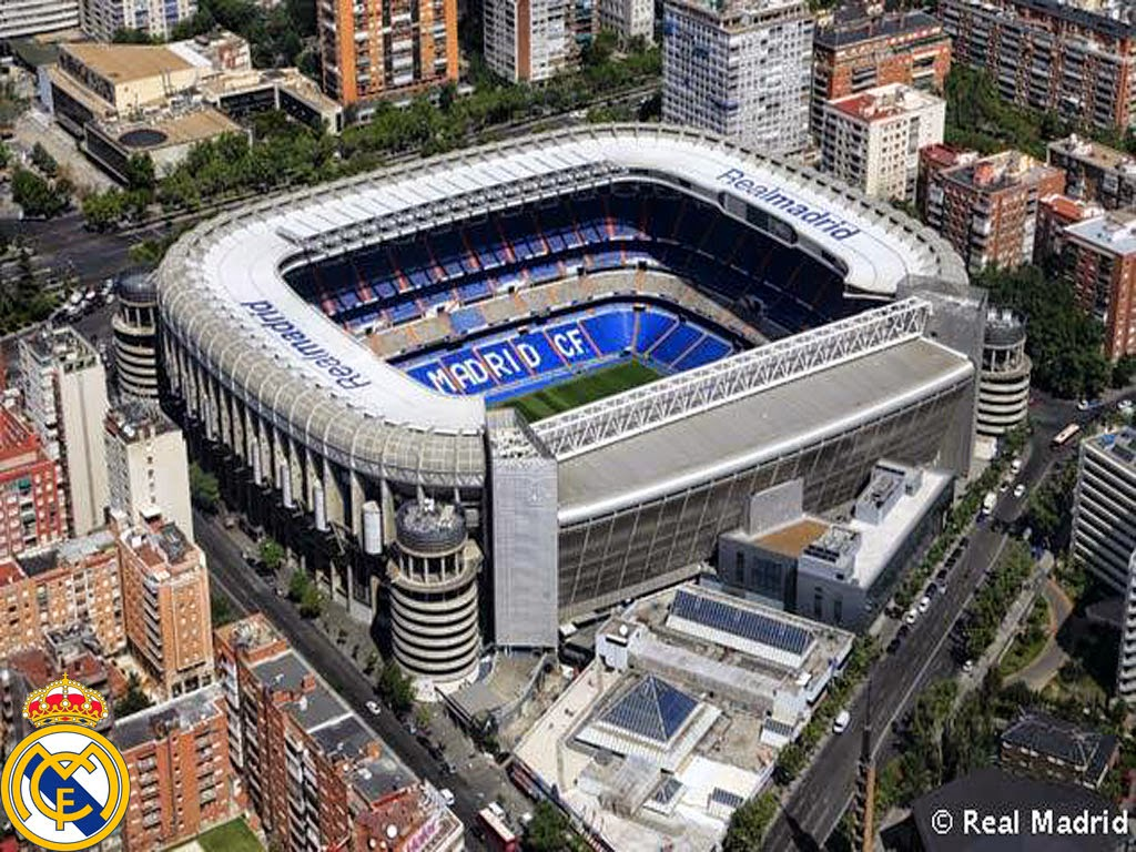 Santiago Bernabeu - Real Madrid Stadium