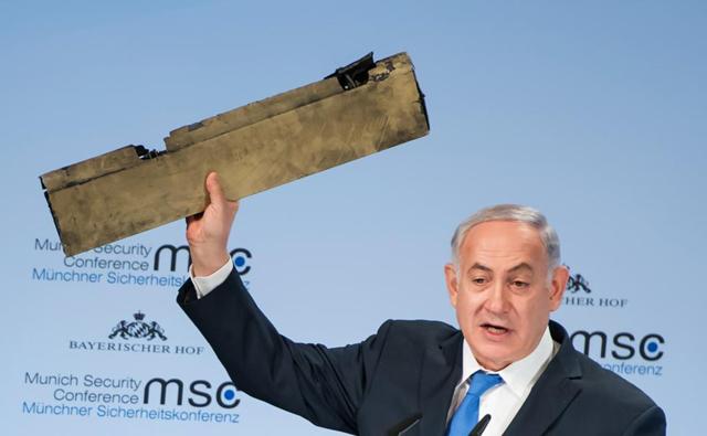 """""""Accidente"""" de avión iraní en medio de la escalada militar con Israel"""