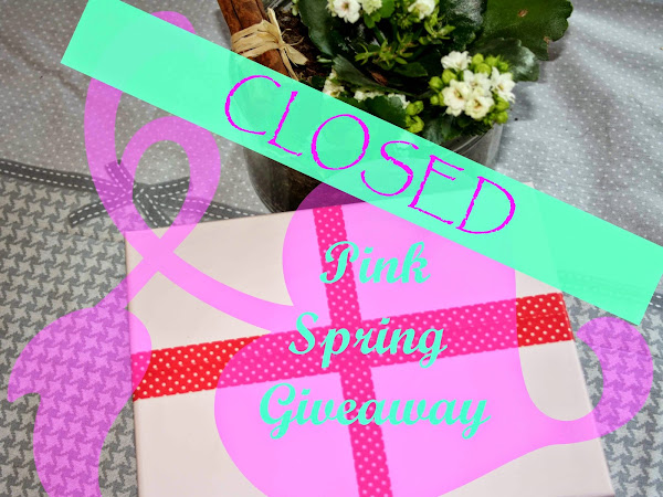 AND MY PRETTY PINK BOX GOES TO... (Pink spring giveaway winner)