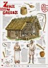 Życie codzienne za panowania dynastii Piastów (plakaty edukacyjne)