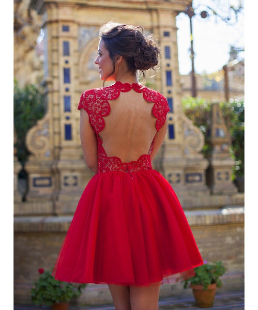 open back silvia navarro dress