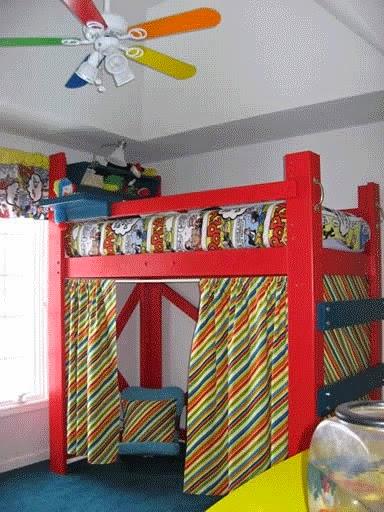 kids loft bed plans and design ideas