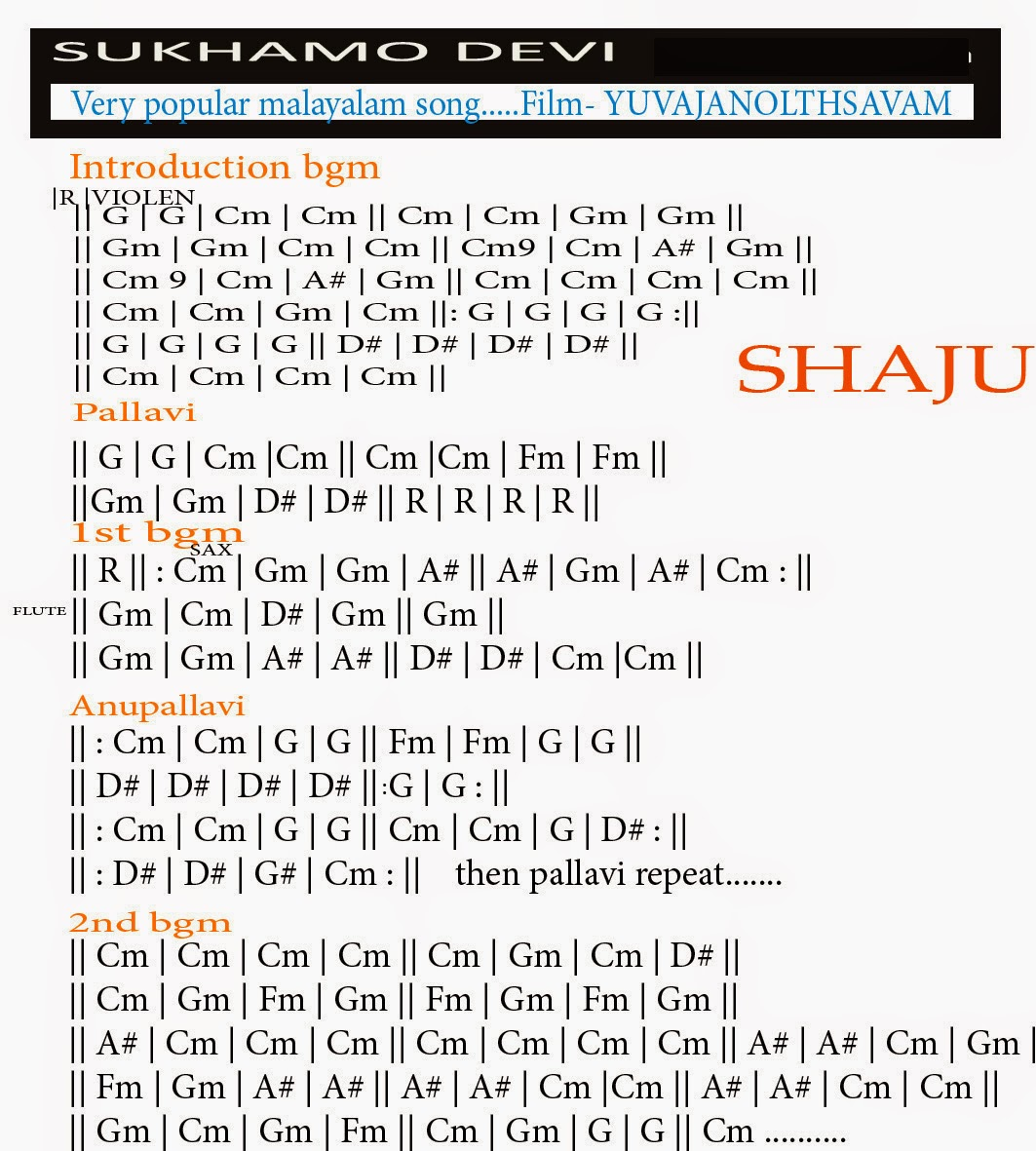 Shajus Guitar Lessons Chords 4 Live Performers