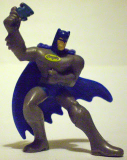 Front of McDonald's Brave & Bold Batman with batarang
