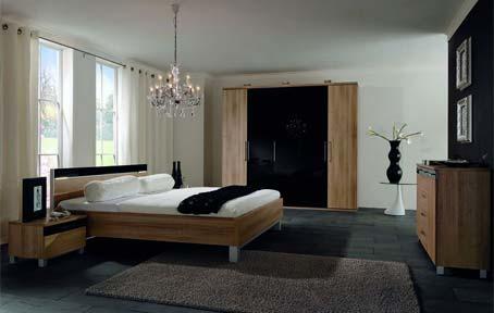 Interior designs bedrooms contemporary black and blue ...