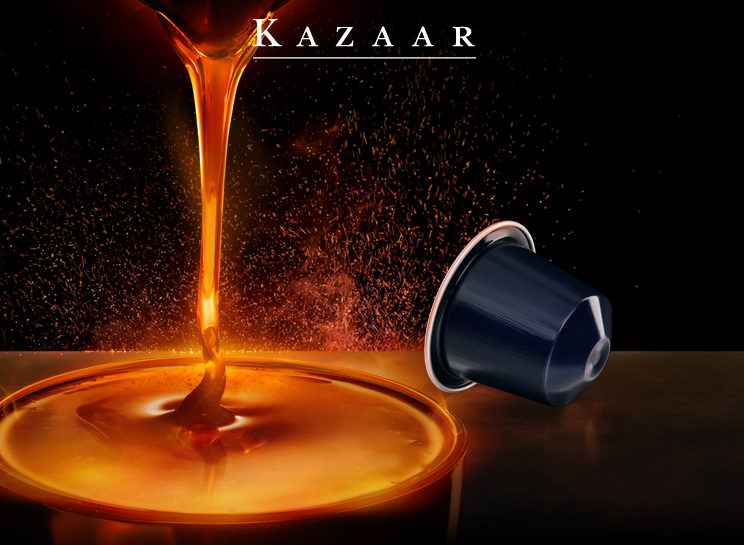 Me and My Cigars Nespresso Brings Back KAZAAR and DHARKAN  -> Nespresso Kazaar
