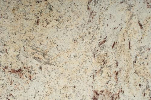 The granite gurus slab sunday shivakashi granite for Cream colored granite countertops