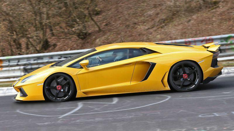 Lamborghini Aventador Sv Exterior