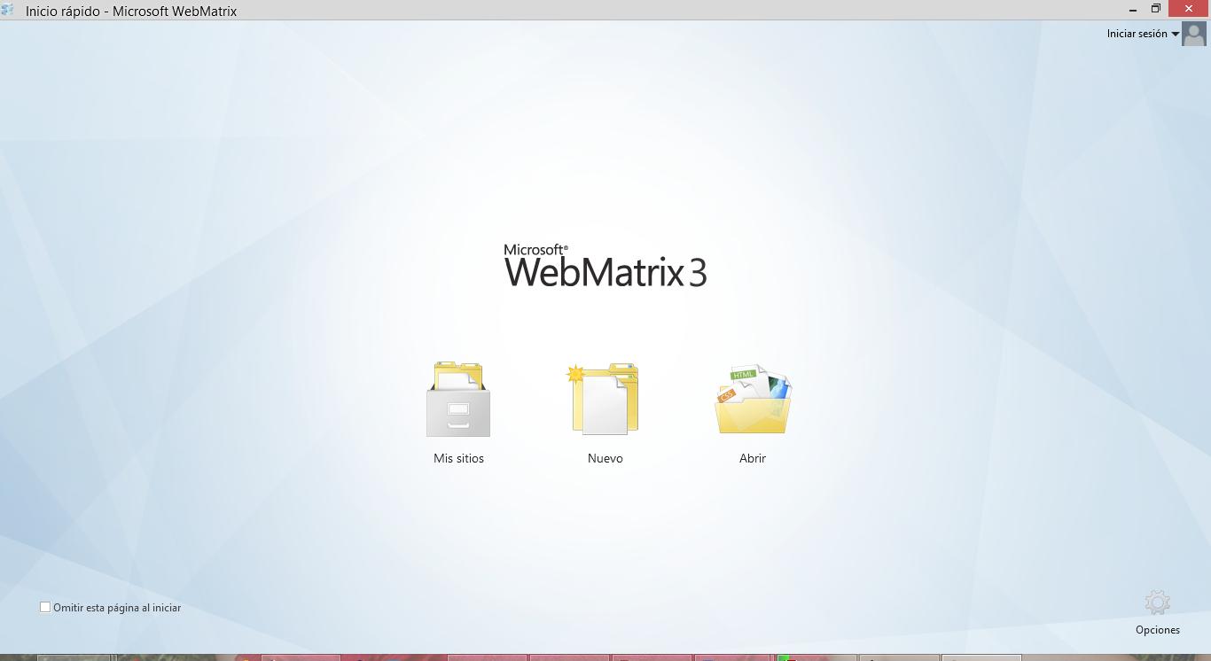 Instalación De WebMatrix Y La Extensión De TypeScript