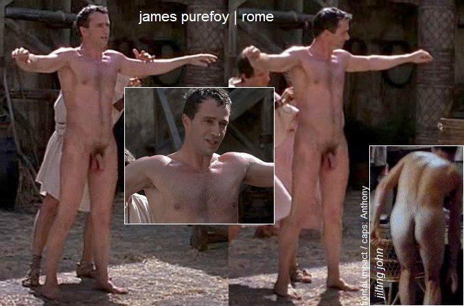 Nude photo jame purefoy in rome
