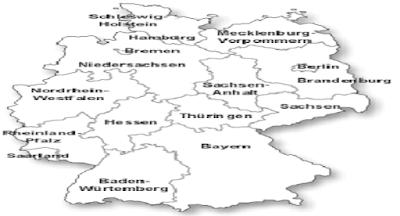 Negara Maju Jerman : Letak Geografis, Letak Astronomis, Keadaan Alam, Batas Wilayah, Batas Wilayah dan Perekonomian Negara Maju Jerman
