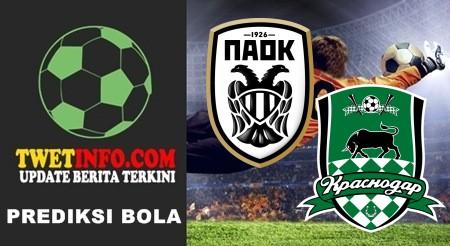 Prediksi PAOK vs Krasnodar