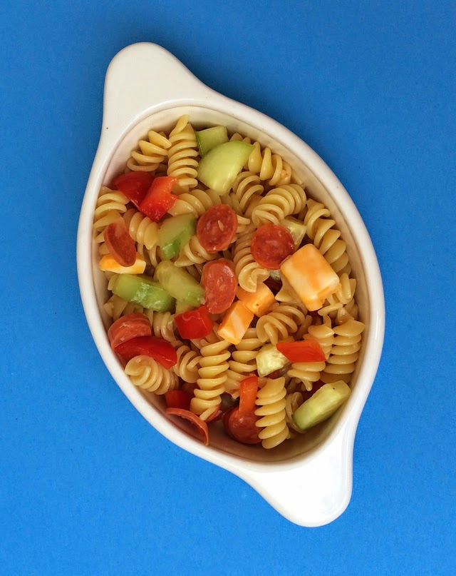 Be Different Act Normal Pepperoni Pasta Salad Recipe