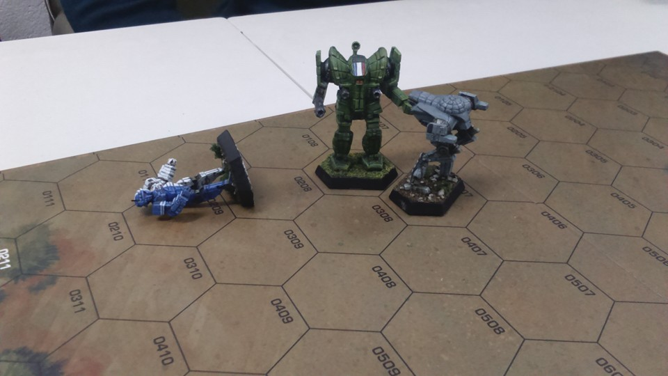 Informe de batalla: cacería de lobos  BT4