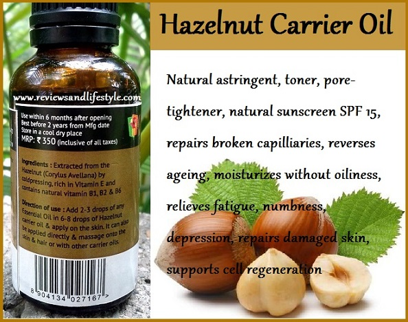 Hazelnut Carrier Oil: Natural Sunscreen and a Magic Skin Potion