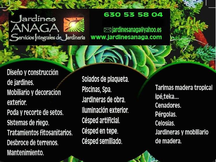 Jardines Anaga .Paisajismo 630535804