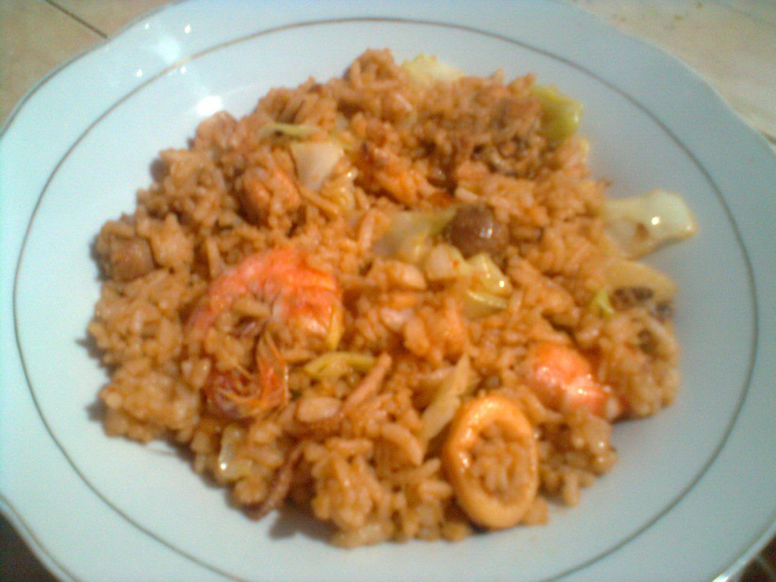 Nasi Goreng Budu Seafood