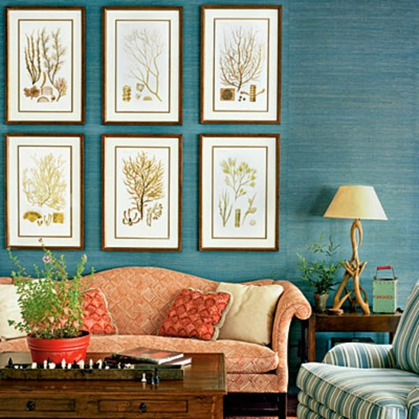 Living room color schemes 20 green blue color combinations for Color scheme for living room walls