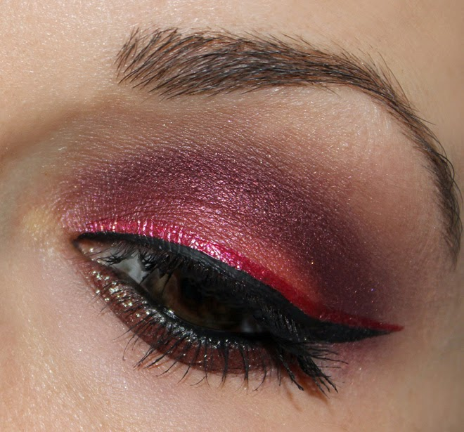 Make Up Inspiration mit Pigmenten
